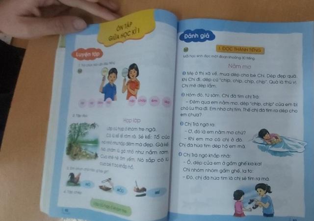 Sách giáo khoa lớp 1: Giáo viên vững, có tâm thì sách nào cũng dạy được - 1