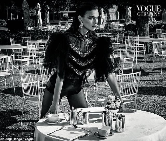 Tình cũ của Ronaldo khoe dáng chuẩn trên tạp chí Vogue - 3