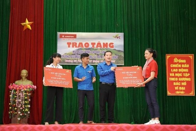 Ariston mang sự thoải mái tới hơn 1000 học sinh huyện Hoàng Su Phì - 3
