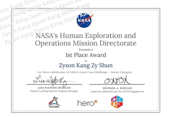 """Cậu bé 9 tuổi chinh phục NASA bằng ý tưởng """"toilet không gian"""" độc đáo - 3"""