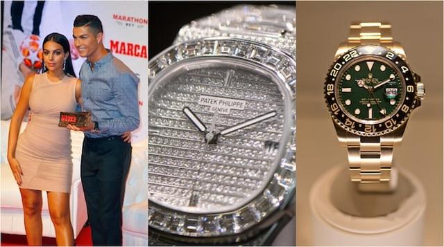 Bộ sưu tập đồng hồ hiệu trị giá 10 triệu USD của bạn gái C.Ronaldo - 3