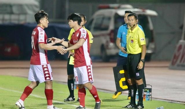 CLB TPHCM hòa Bình Dương ở trận đấu chia tay Công Phượng - 2