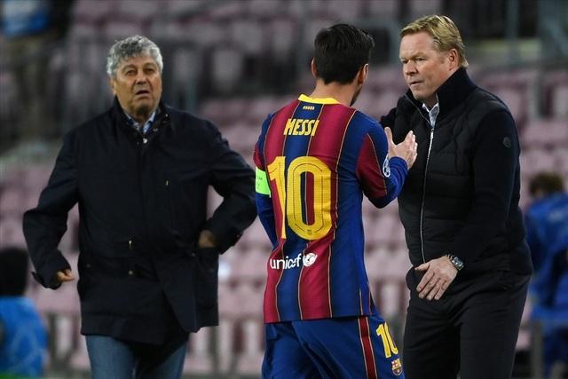Messi bị chê lười biếng, HLV Ronald Koeman phản ứng sao? - 2