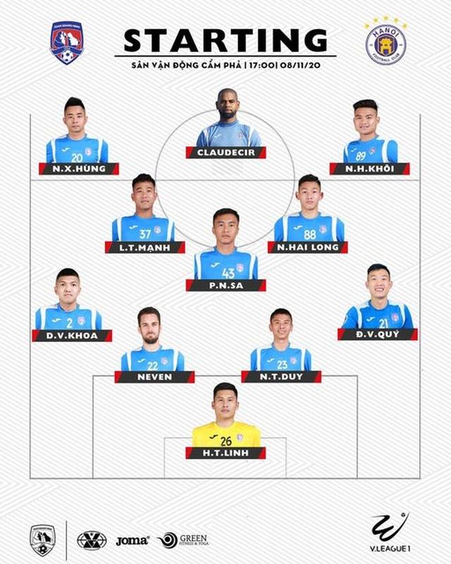 Thắng đậm Than Quảng Ninh, CLB Hà Nội về nhì tại V-League 2020 - 23