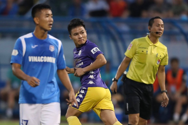 Thắng đậm Than Quảng Ninh, CLB Hà Nội về nhì tại V-League 2020 - 16