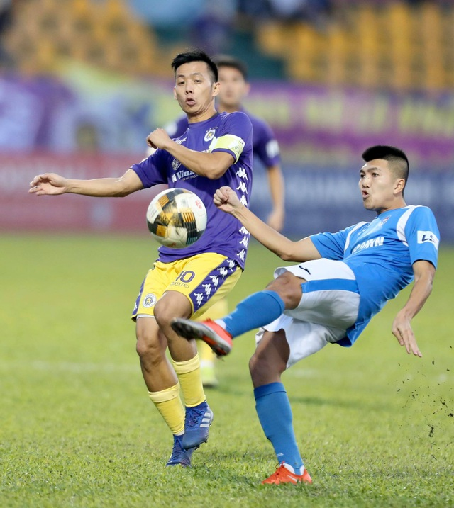 Thắng đậm Than Quảng Ninh, CLB Hà Nội về nhì tại V-League 2020 - 19
