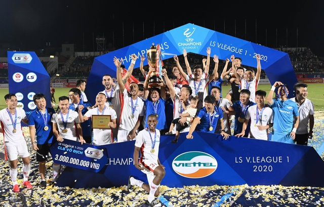 Đánh bại Sài Gòn FC, CLB Viettel vô địch V-League 2020 - 1