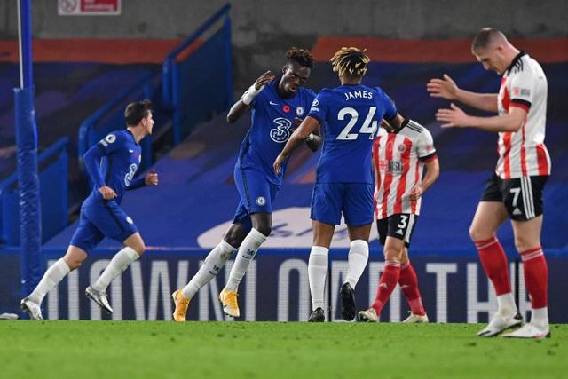 Bị thủng lưới sớm, Chelsea vẫn dễ dàng vùi dập Sheffield Utd - 2