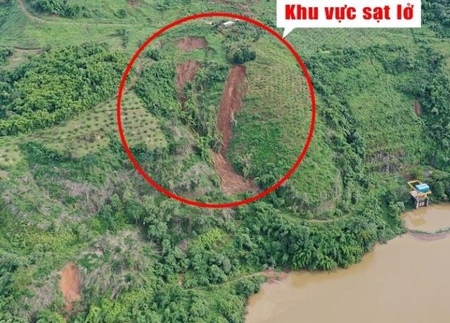 Vết nứt gần hồ thủy điện Đắk R'Tih là do nổ mìn phá đá? - 2