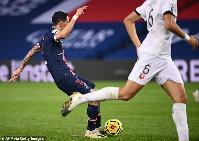 Vắng Neymar và Mbappe, PSG thăng hoa nhờ Di Maria - 3