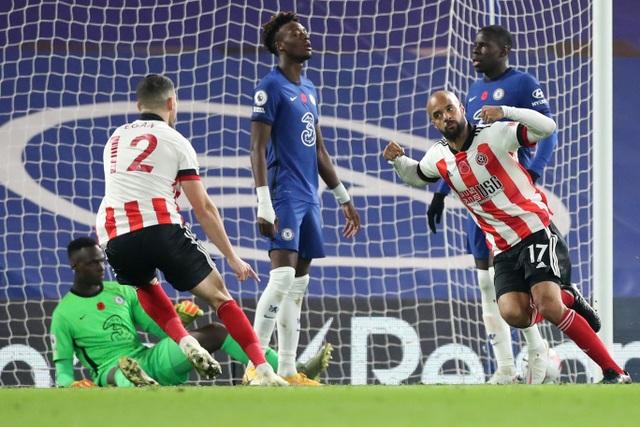 Bị thủng lưới sớm, Chelsea vẫn dễ dàng vùi dập Sheffield Utd - 1