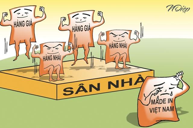 """""""Ưu tiên"""" cho hàng Việt - 1"""