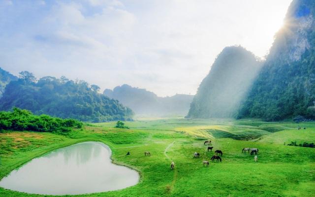 """Miền thảo nguyên xanh đẹp tựa """"tiên cảnh"""" cách Hà Nội chỉ hơn 100km - 3"""