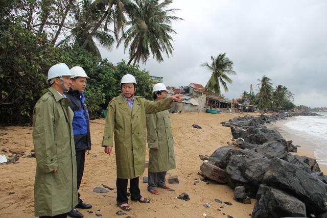 Phú Yên: Yêu cầu người dân không lơ là, chủ quan đối với bão số 12 - 7