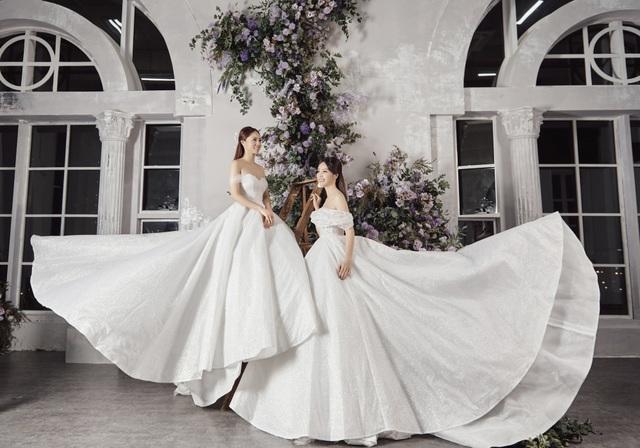 Á hậu Thuỵ Vân hứa chọn váy cưới cho bạn gái NSND Công Lý ngày lên xe hoa - 5