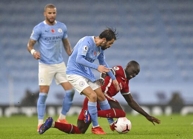 Man City 1-1 Liverpool: De Bruyne đá hỏng phạt đền - 3
