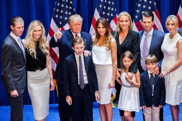 """""""Bí mật"""" giúp các con của ông Trump thành công dù """"ngậm thìa vàng"""" - 1"""