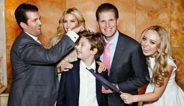 """""""Bí mật"""" giúp các con của ông Trump thành công dù """"ngậm thìa vàng"""" - 2"""