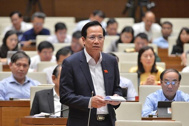 Bộ trưởng Lao động tự tin thực hiện được các mục tiêu Quốc hội giao - 1