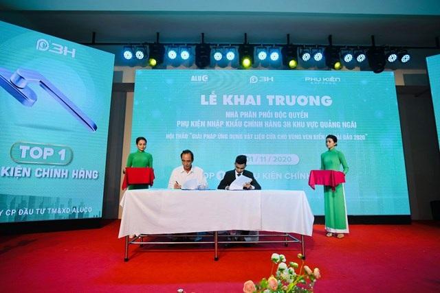 Hệ thống phân phối phụ kiện cửa nhôm chính hãng hàng đầu Việt Nam 3H có mặt tại Quảng Ngãi - 1