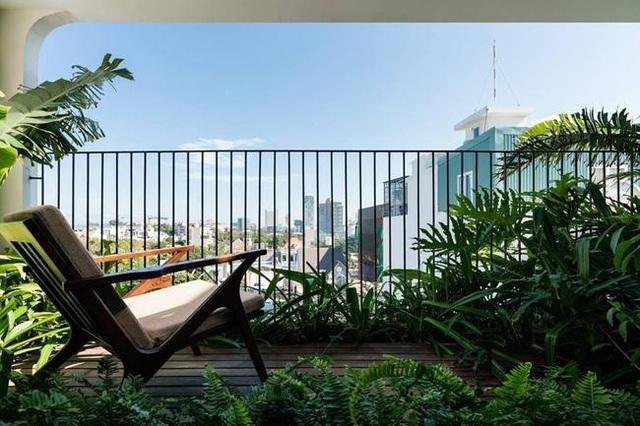 """Nhà phố Vũng Tàu có mặt tiền """"vườn chồng vườn"""" độc đáo - 14"""