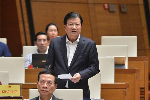 Phó Thủ tướng nói về đề xuất thành lập Bộ Phòng chống thiên tai - 1