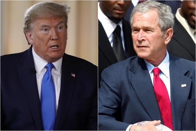 Cựu Tổng thống Bush chúc mừng ông Biden đắc cử tổng thống - 1