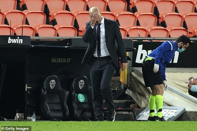 HLV Zidane nhận sai sau khi Real Madrid thua đậm Valencia - 3