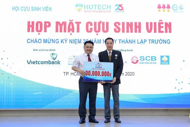 Hội Cựu sinh viên HUTECH quyên góp hơn 250 triệu đồng thiện nguyện trong ngày ra mắt - 3