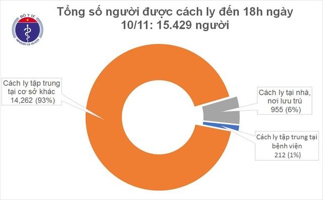 Tối 10/11, Việt Nam thêm 10 ca mắc Covid-19, đều là ca nhập cảnh - 2
