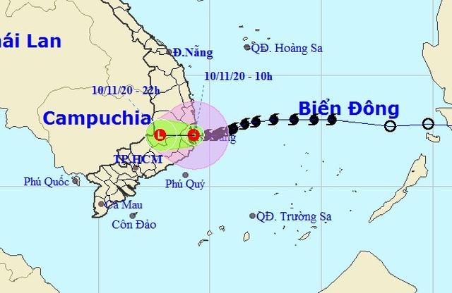 Bão số 12 suy yếu thành áp thấp nhiệt đới, nhiều nơi mưa to - 1