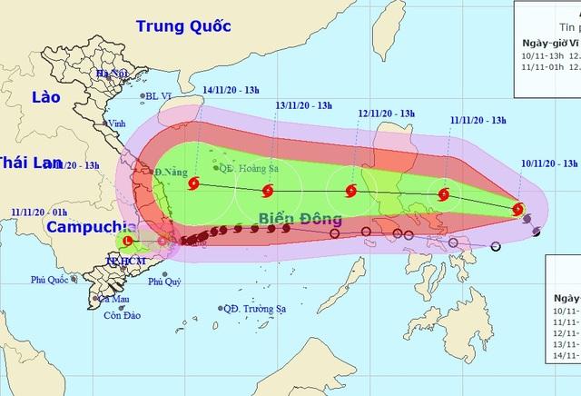 Bão Vamco sắp vào Biển Đông là cơn bão mạnh! - 2
