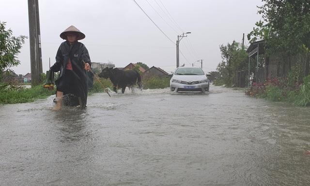 Phú Yên mưa lớn, lũ lên nhanh, dân vội vàng đi sơ tán - 8