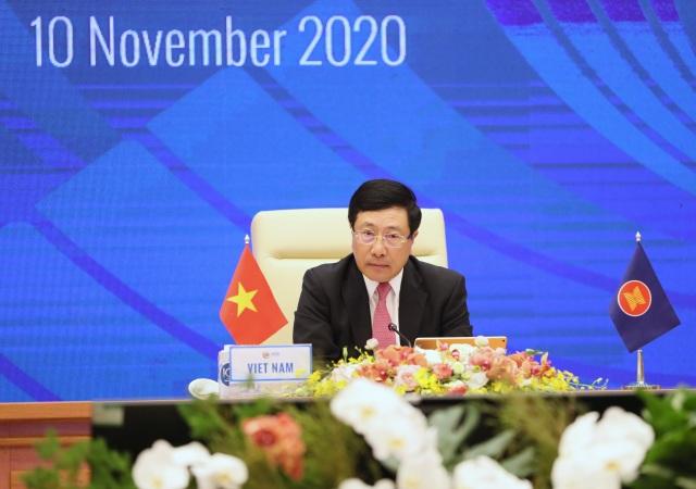 Ngoại trưởng ASEAN trông đợi xây dựng thành công quy tắc ứng xử trên biển - 2