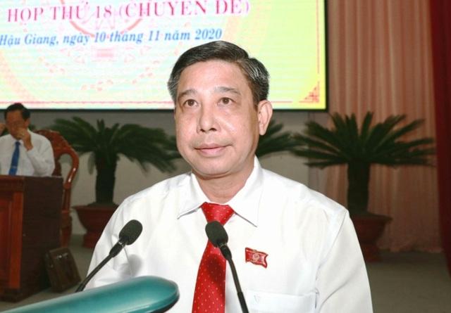 Ông Đồng Văn Thanh được bầu làm Chủ tịch Hậu Giang - 2