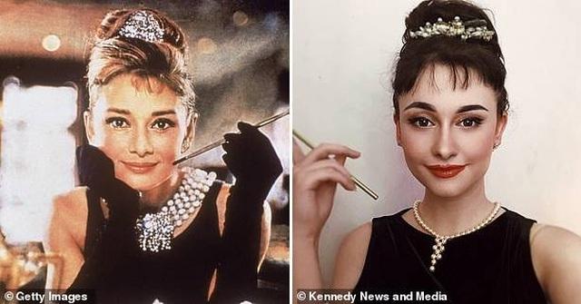 """Sửng sốt trước nhan sắc của """"truyền nhân Audrey Hepburn"""" - 8"""