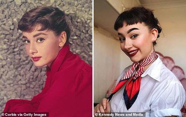 """Sửng sốt trước nhan sắc của """"truyền nhân Audrey Hepburn"""" - 11"""