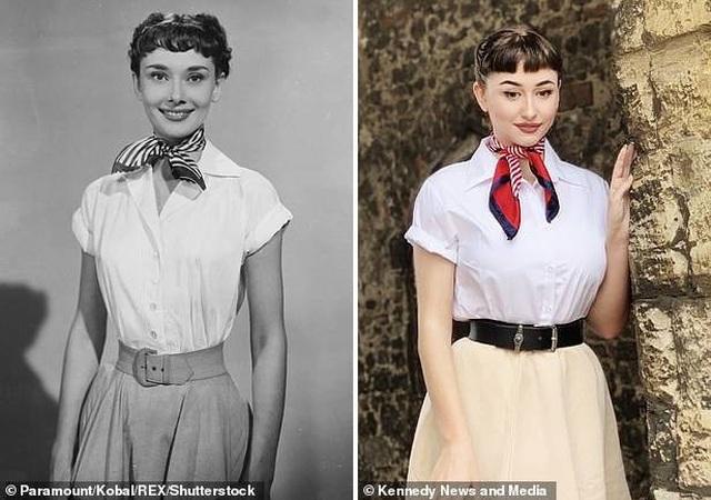 """Sửng sốt trước nhan sắc của """"truyền nhân Audrey Hepburn"""" - 13"""