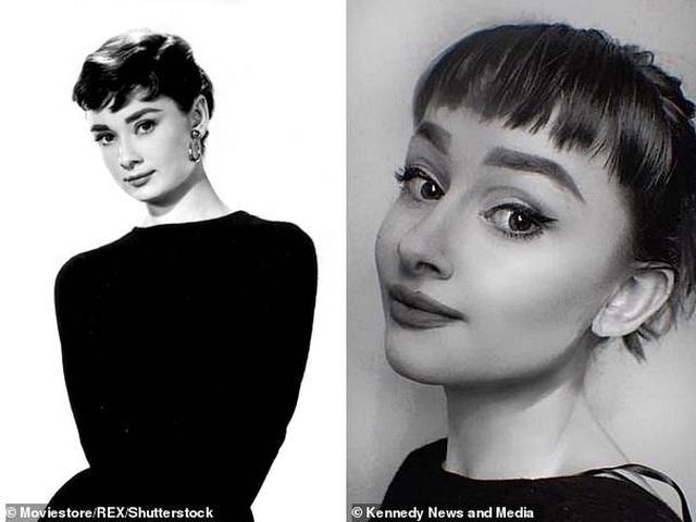 """Sửng sốt trước nhan sắc của """"truyền nhân Audrey Hepburn"""" - 14"""