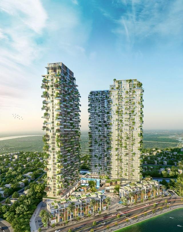 Có gì trong tòa tháp xanh lọt top cao nhất thế giới của Ecopark - 1