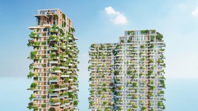 Có gì trong tòa tháp xanh lọt top cao nhất thế giới của Ecopark - 2