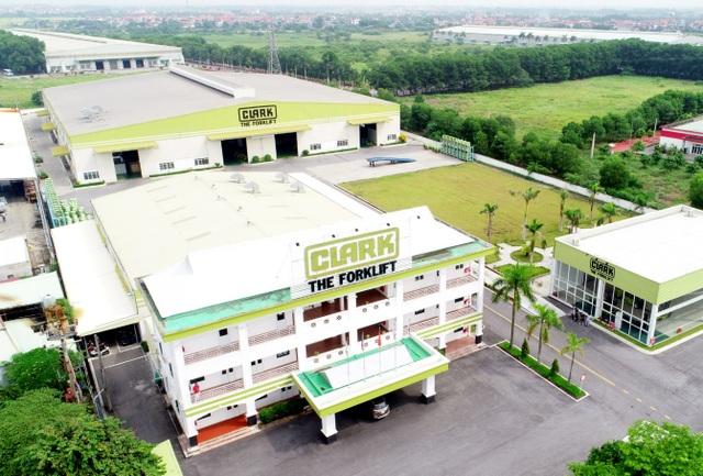 Xe nâng Clark thành lập nhà máy sản xuất và phân phối toàn cầu tại Việt Nam - 2