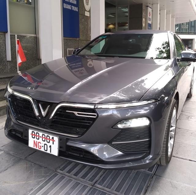 Đại sứ quán Áo sử dụng VinFast Lux A2.0 làm xe công vụ - 2