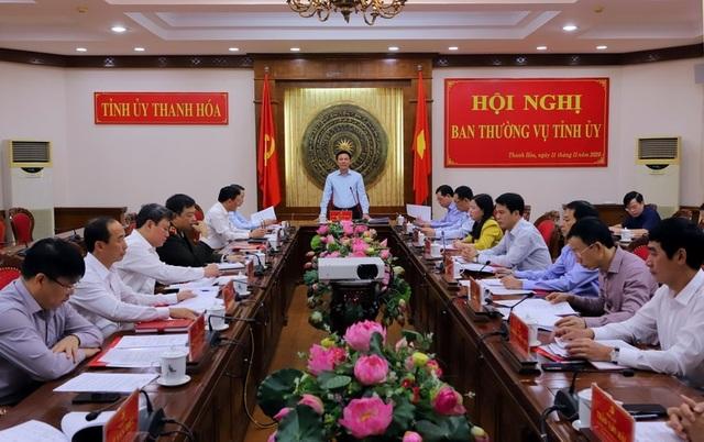 Bộ Chính trị chuẩn y Bí thư Tỉnh ủy Thanh Hóa - 1