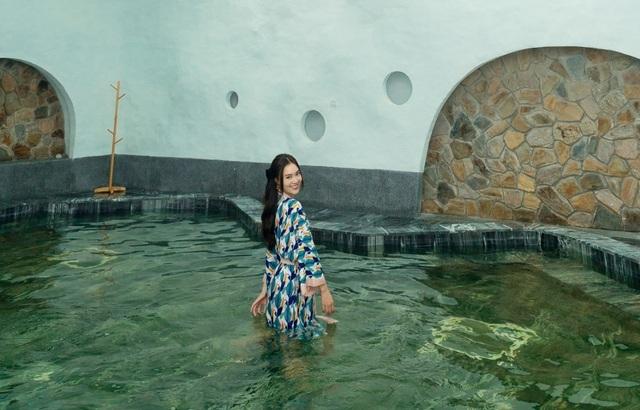 """Theo chân Lan Ngọc trải nghiệm """"thiên đường tắm khoáng"""" tại Việt Nam - 4"""