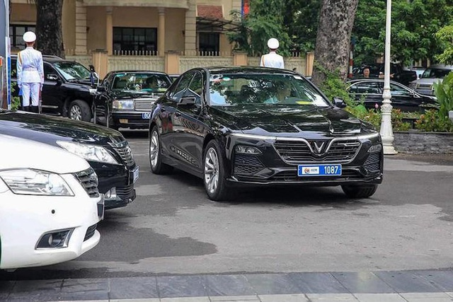 Đại sứ quán Áo sử dụng VinFast Lux A2.0 làm xe công vụ - 3