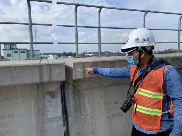 Sự cố rớt gối dầm cầu ở tuyến Metro không lớn nhưng chưa từng gặp - 5