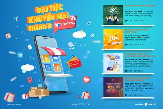 VNPT Pay mở đại tiệc ưu đãi nhân dịp ngày độc thân 11/11 - 1
