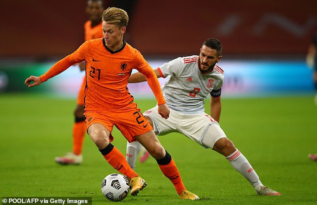 Van de Beek ghi bàn, Hà Lan bất phân thắng bại với Tây Ban Nha - 8
