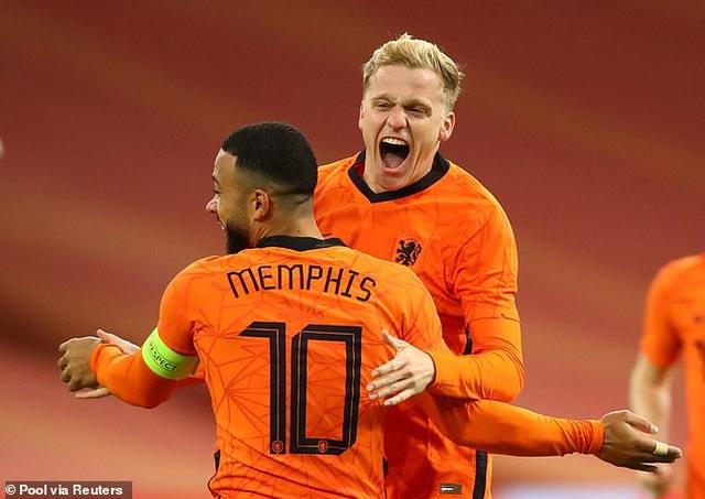 Van de Beek ghi bàn, Hà Lan bất phân thắng bại với Tây Ban Nha - 4